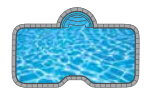 Noble In-ground Pool Shape from Trevi  Châteauguay