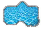 Ovation In-ground Pool Shape from Trevi  Châteauguay