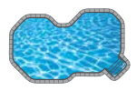 Splash In-ground Pool Shape from Trevi  Châteauguay