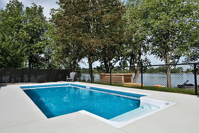 Flex+ In-Ground pool from Trévi Châteauguay