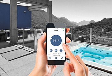 Mobile application for managing your In-Touch outdoor spa
